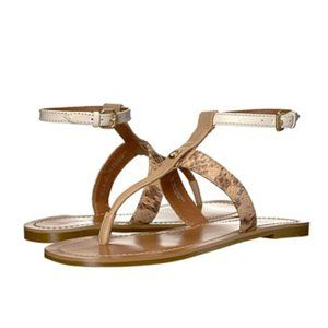 COACH Liza Sandals Beechwood/Chalk
